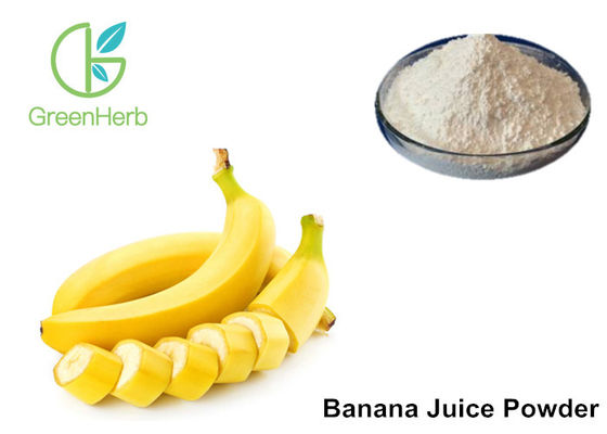 China Water Instant Banana Fruit Juice Powder Musa Nana Lour Milk White Color supplier