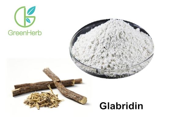 China Cosmetic Grade 100% Natural Licorice Root Extract 90% Glabridin Powder supplier