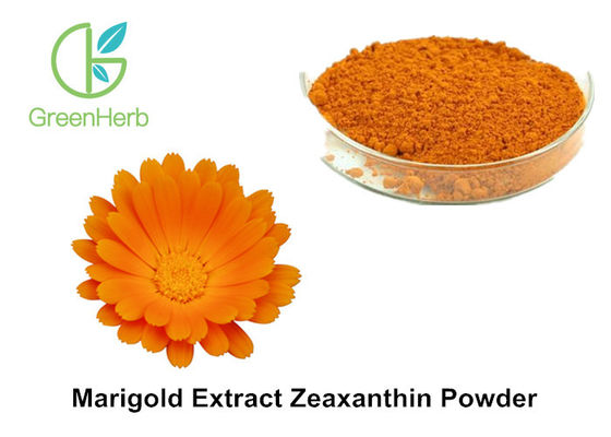 Natural Food Coloring Powder , 5% Marigold Flower Extract Zeaxanthin Powder