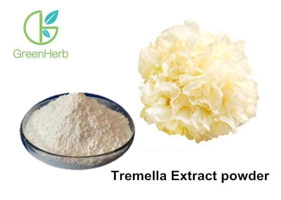 80% Total Sugar Tremella Fuciformis Extract Powder For Skin Care