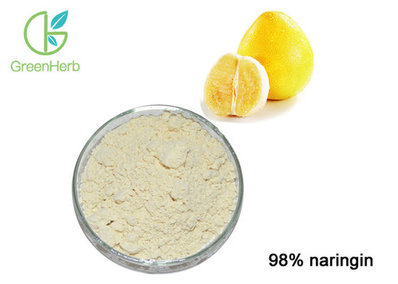 China 100% Natural Pomelo Peel Extract Powder 98% Naringin For Chronic Cough factory