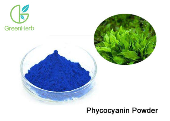 China Food Grade Spirulina Phycocyanin Blue Pigment Phycocyanin Powder factory