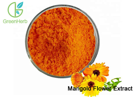 China Natural Food Coloring Powder / Marigold Flower Extract Powder Lutein 5%-80% factory