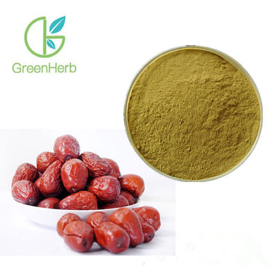 China Water Soluble Fruit Extract Powder Dry Jujube Extract Powder Enhance Human Immunity factory