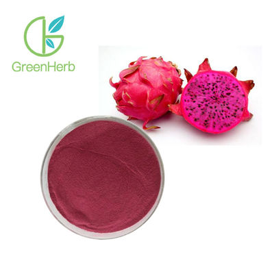China Anti Oxidation Dragon Fruit Extract Powder / Pitaya Extract Purple Red Fine Powder factory