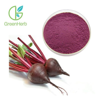 100% Pass 80 Mesh Beetroot Extract Powder Purple Red Color Food Beverage Ingredients