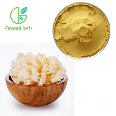 Pure Natural Vegetable Extract Powder 30% Polysaccharides Tremella Mushroom Extract