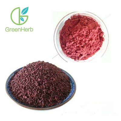 China 100% Natural Food Pigment Red Yeast Rice Extract Monascus Color / Red Yeast Rice P.E. factory